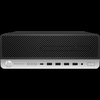 HP 600 ProDesk G3 SFF i7-7700, 8GB, 256GB SSD, DVDRW, W10P64 3/3/3YR. 1MF41PA