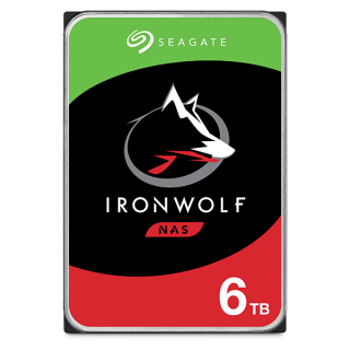 6TB SEAGATE NAS IRONWOLF 256MB - ST6000VN0033