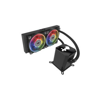 INWIN SR24 240mm CPU LIQUID COOLER  - ARGB, AJF120*3 Fans, 5yrs Warranty.
