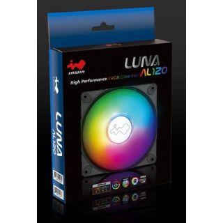 IN WIN LUNA AL120-1PK ARGB CASE FAN 120mm. 2RAKFS011000