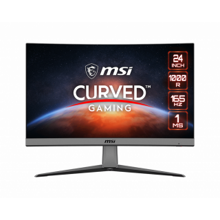 "24"" MSI CURVED PANEL, FRAMELESS, 165Hz, 1ms, VA,  1920*1080, HDMI, DP, - MAG ARTYMIS 242C"