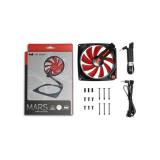 IN WIN MARS TRANSFORMER FAN 120mm RED - MARSFAN-1PK-RED