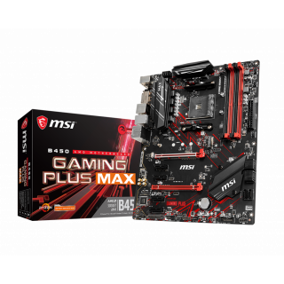 MSI B450 GAMING PLUS MAX MOTHERBOARD.