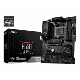 MSI B550-A PRO MOTHERBOARD.