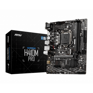 H410M PRO MOTHERBOARD.