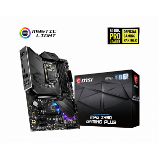 MSI MPG Z490 GAMING PLUS MOTHERBOARD