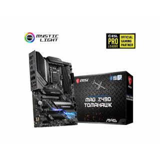 MSI MAG Z490 TOMAHAWK MOTHERBOARD