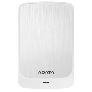 1TB ADATA HV320 EXTERNAL SLIM HDD USB3.2 WHITE- AHV320-1TU31-CWH