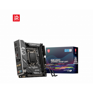 MPG B560I GAMING EDGE WIFI  MOTHERBOARD.