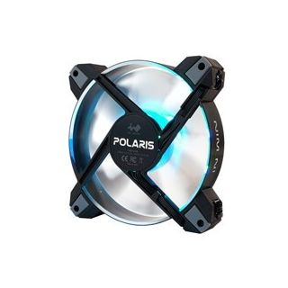 IN WIN POLARIS SILENT RGB-AS ALUMINIUM  CASE FAN - Single Pack.