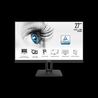"MSI 27"" QHD 2560*1440 IPS Flat Screen Adjustable Stand Speakers ,  - PRO MP271QP"