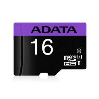 16GB ADATA Premier microSDXC/SDHC UHS-I Class10 (with Adaptor Retail) -  AUSDH16GUICL10-RA1