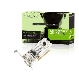Galax GT 1030 EX WHITE DDR5 - 2GB/Fan/HDMI/DVI - 30NPH4HVQ5EW