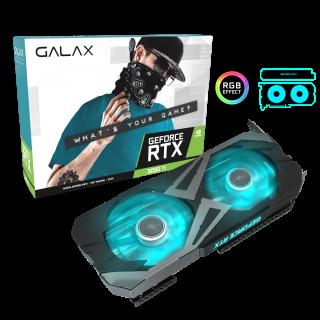Galax RTX 3060 Ti EX PCI-E 8GB/GDDR6 256BIT W/HDMI/DP/DP/DP/Cooling Fan - 36ISL6MD1WGG