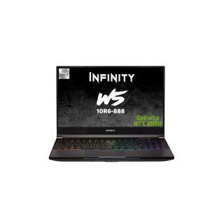 """INFINITY W5-10R6-888  - i7-10875H/16G/ 512GB SSD/RTX2060 /15.6"""" FHD IPS /240Hz/Mech KB/W10H"""